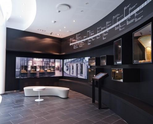 Et museumsområde i bedriften