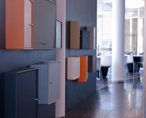 Montana moduler kantine interiørarkitekt Berentsen