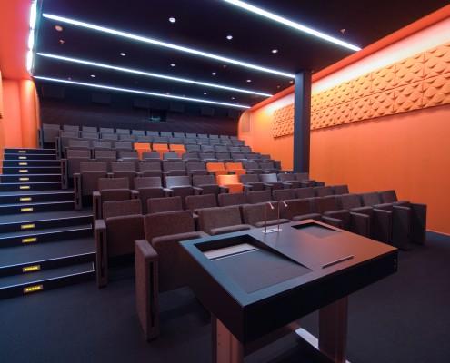Auditorium bedrift interiørarkitekt Berentsen