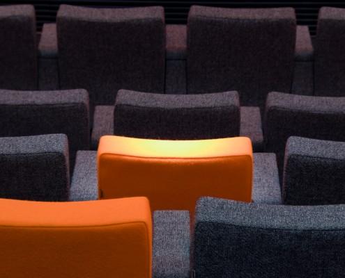 Stolsete seterad auditorium