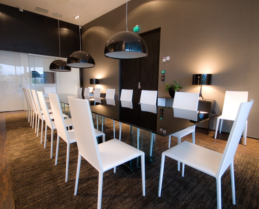Interiørarkitekt Berentsen: Møterom i det private næringsliv