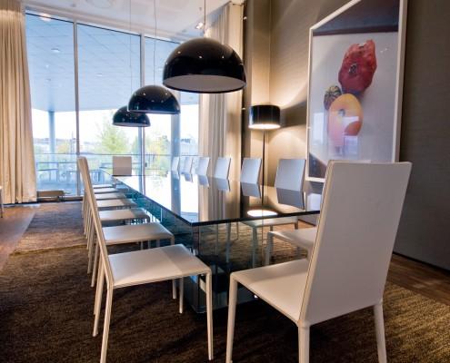Eksklusivt møterom i det privat næringsliv interiørarkitekt Berentsen