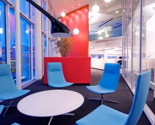 Gangareal kontor interiørarkitekt Berentsen