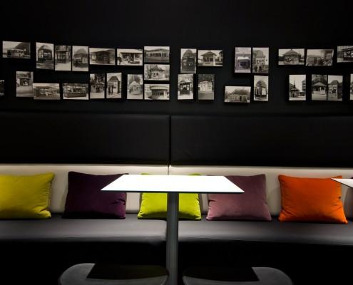 Narvesens historie utstilt interiørarkitekt Berentsen