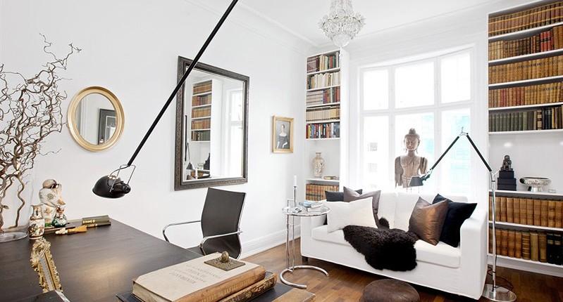 Stue i Frognerleilighet i Oslo _interiørdesign Berentsen interiørarkitekter