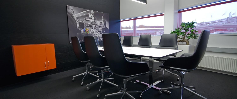 interiørarkitekt Oslo næring kontorbygg møterom