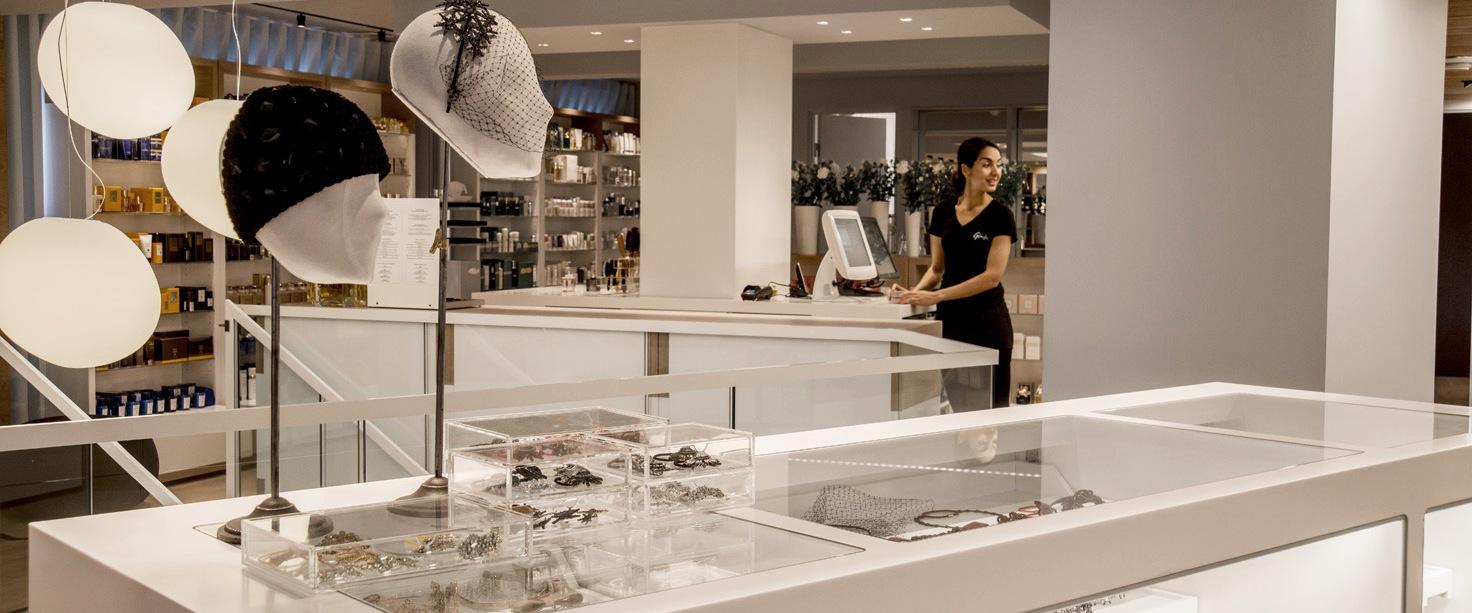 interiørarkitekt oslo butikk parfymeri velvære spa berentsen interiørarkitekter